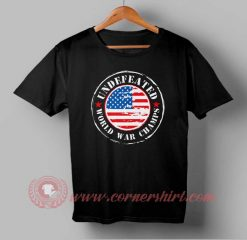 Undefeated Independence Day T shirt