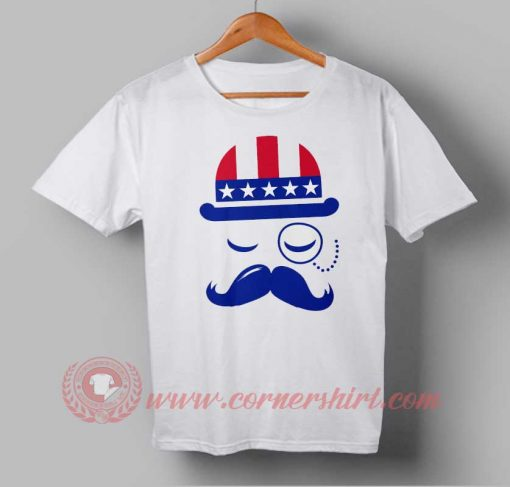 Vintage American Sir Independence Day T shirt