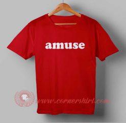 Amuse Custom Design T shirts