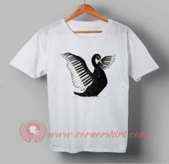 Black Swan Piano Custom Design T shirts