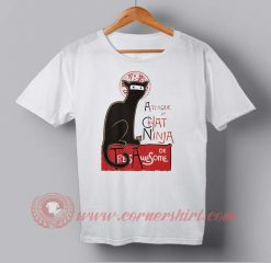 Cat Ninja Custom Design T shirts