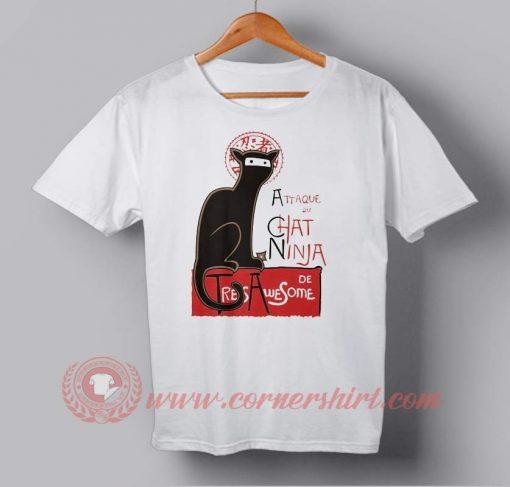 Cat Ninja Custom Design T shirts