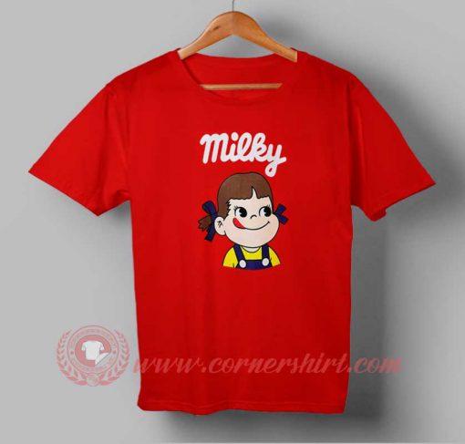 Milky Cute Custom Design T shirts