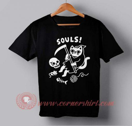 Death Cat Custom Design T shirts