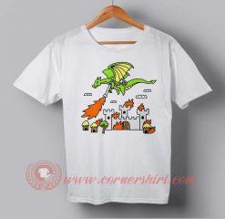 Fire Dragon Custom Design T shirts