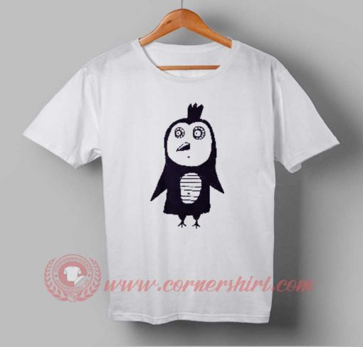 Funny Owl Drawing Custom Design T shirts