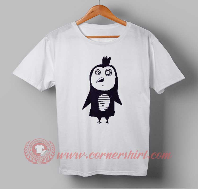 Funny Owl Drawing Custom Design T shirts