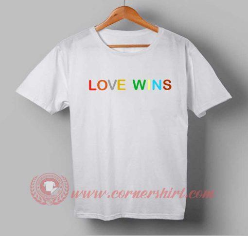Buy Best T shirt Love Wins T shirt For Men and Women