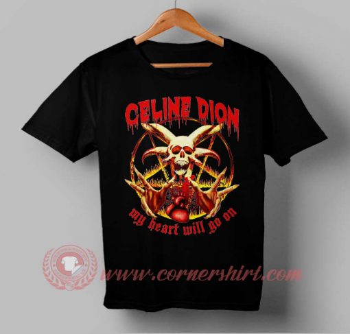 My Heart Will Go On Custom Design T shirts