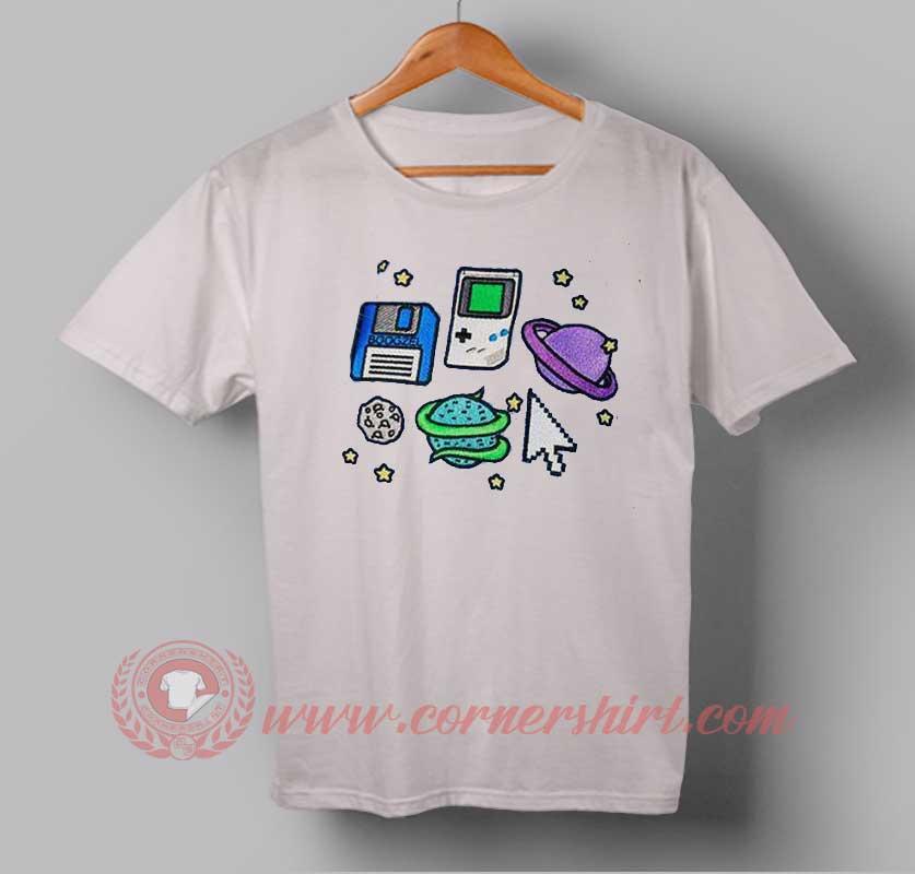 Nintendo game custom design t shirts custom design shirts for Online custom t shirt design
