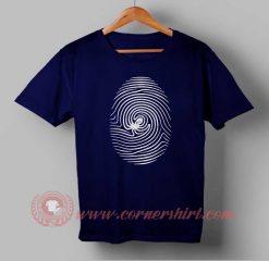 Octo Finger Print Custom Design T shirts