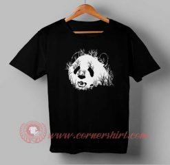 Panda Face Forest Custom Design T shirts