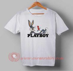 Playboy Funny Bunny Custom Design T shirts