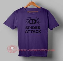 Spider Attack Custom Design T shirts