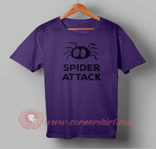 Spider Attack Custom Design T shirts