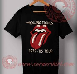 The Rolling Stones 1975 US Tour T shirts