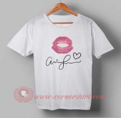 Buy T shirt Ariana Grande Signature T shirt For Men and Women