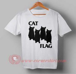 Cat Flag Custom Design T shirts