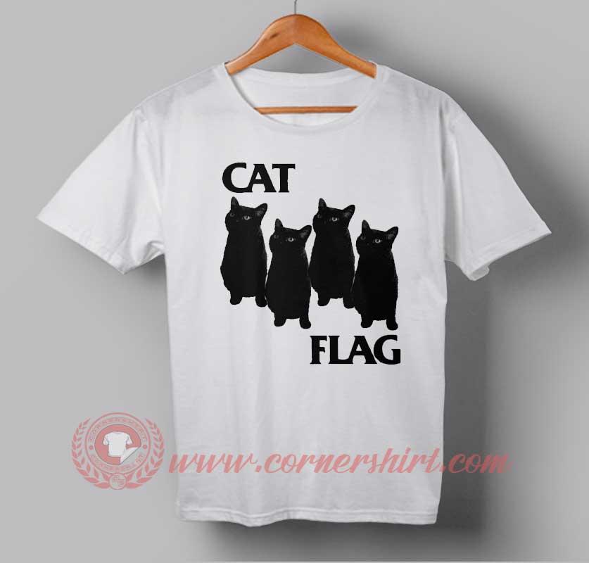 Cat Flag Custom Design T Shirts Custom Design Shirts