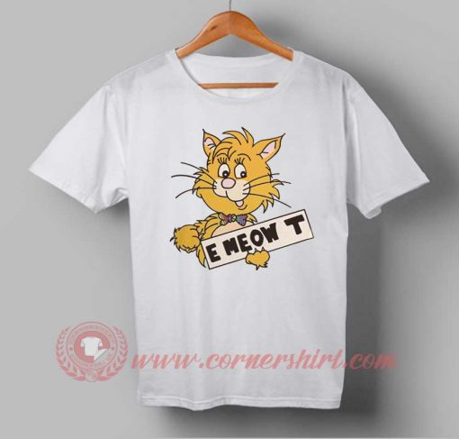 Meow Cat Custom Design T shirts