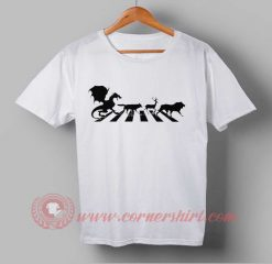 Abey Road Game Of Thrones Custom Design T shirts
