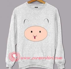 Adventure Time Finn Face Custom Design Sweat shirts