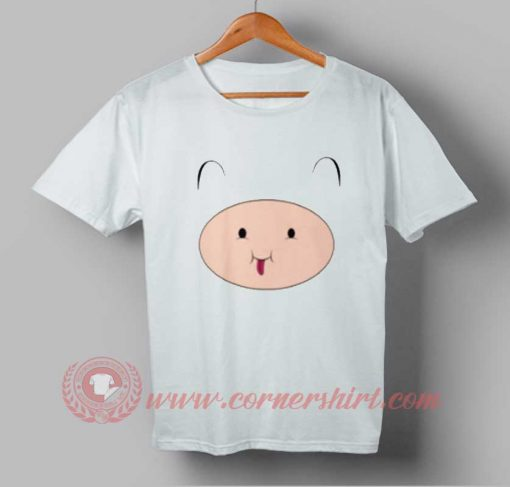Adventure Time Cute Finn Custom Design T shirts