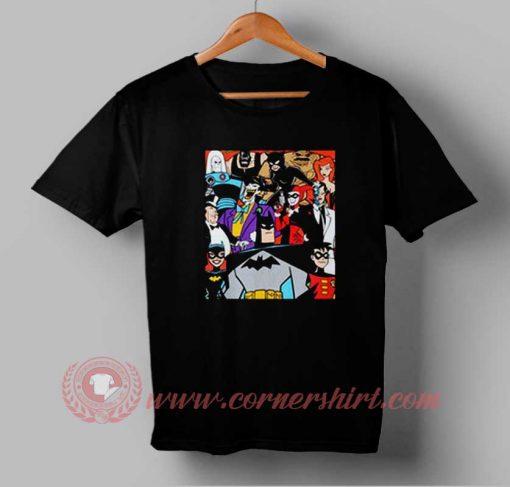 Batman The Series Custom Design T shirts
