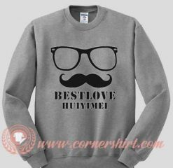Best Love Huiyimei Custom Design Sweat shirts.