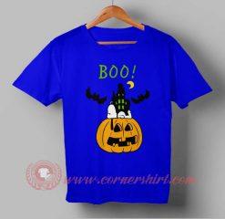 Boo Charlie Brown Halloween T shirt