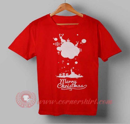 Christmas Season Custom Design T shirts