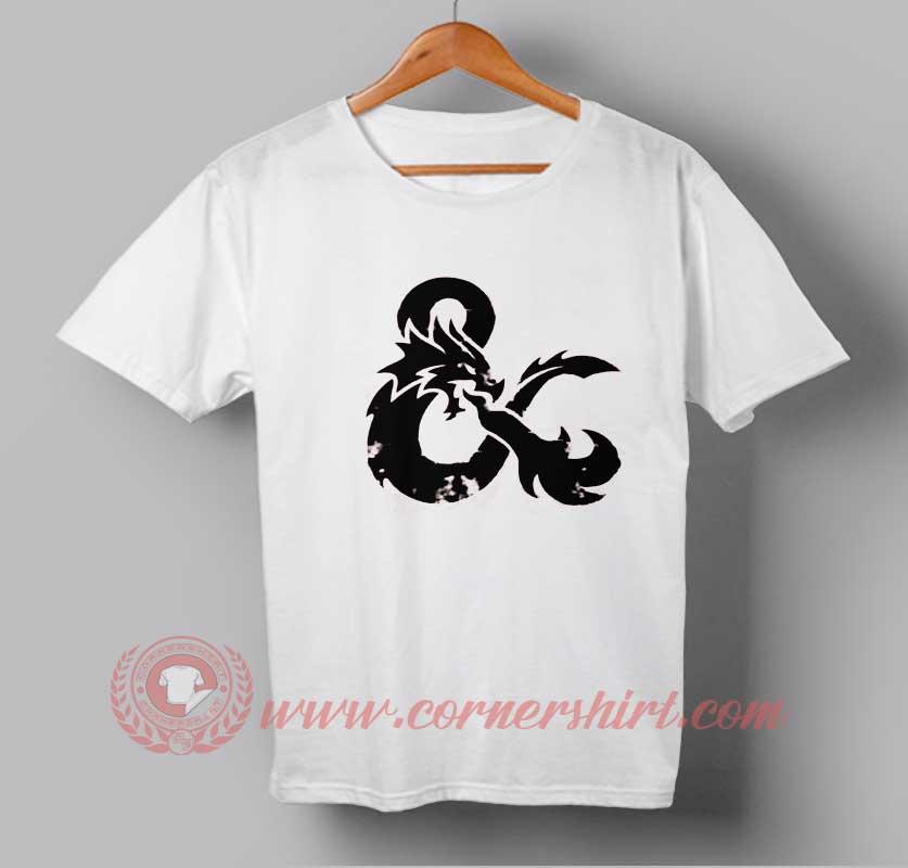 Ampersand Dragon Custom Design T Shirts