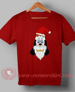 Droopy Santa Clause Custom Design T shirts