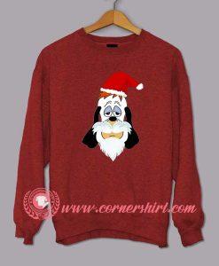 Droopy Santa Clause Custom Design Sweat shirts