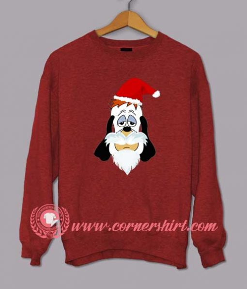 Droopy Santa Clause Custom Design Sweat shirts