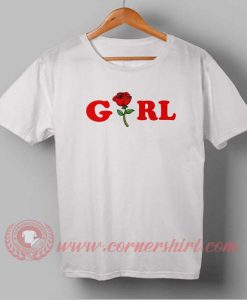 Girl Custom Design T shirts