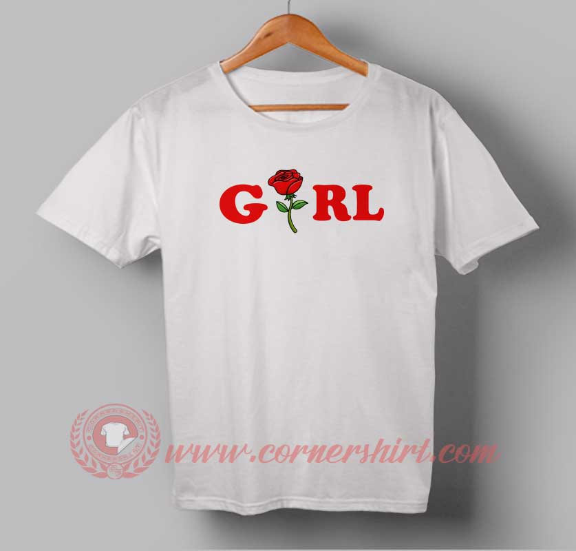Girl custom design t shirts custom t shirt design custom Girl t shirts design