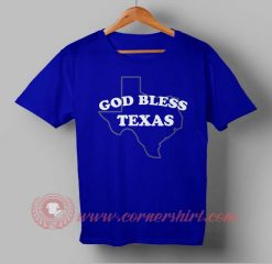 God Bless Texas T shirt