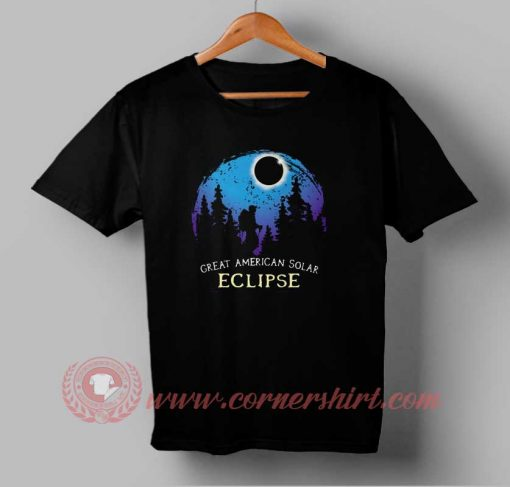 Great American Solar Eclipse Custom Design T shirts