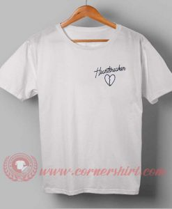 Heart Breaker Custom Design T shirts