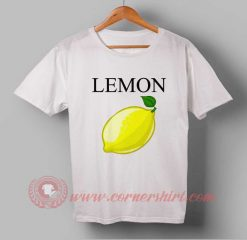 Lemon Fruit Custom Design T shirts