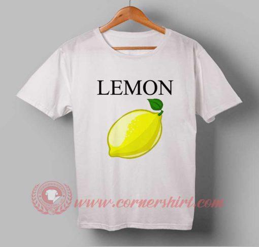 Lemon Fruit Custom Design T shirts