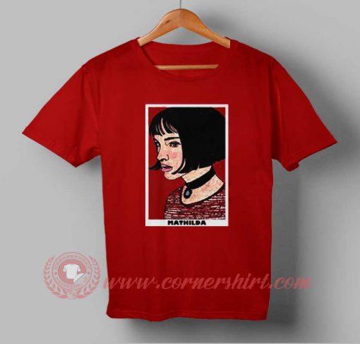 Mathilda Face Custom Design T shirts
