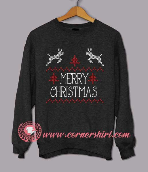 Merry christmas custom design sweat shirts custom sweat Merry christmas t shirt design
