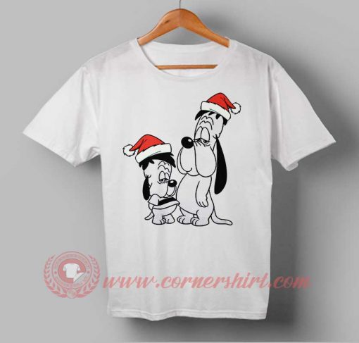 Marry Christmas Droopy And Soon Custom Design T shirts