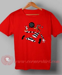 Marry Christmas Dude Custom Design T shirts