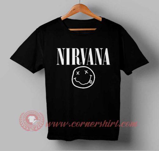Nirvana Logo T shirt