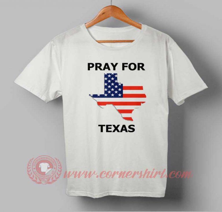 Pray For Texas T shirt