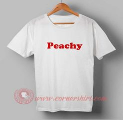 Peachy Words Custom Design T shirts