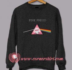Pink Freud Custom Design Sweat shirts